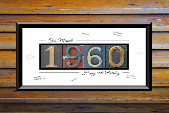 60th Birthday Gifts For Women Gifts Men 60 Year Birthday Etsy