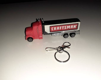 Handmade fob charm secret compartment stash keychain wvintage Pez Policeman