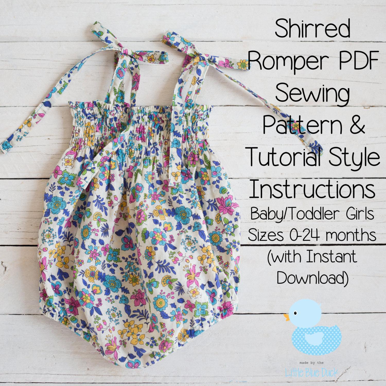 Free Romper Pattern Simple Design Ideas