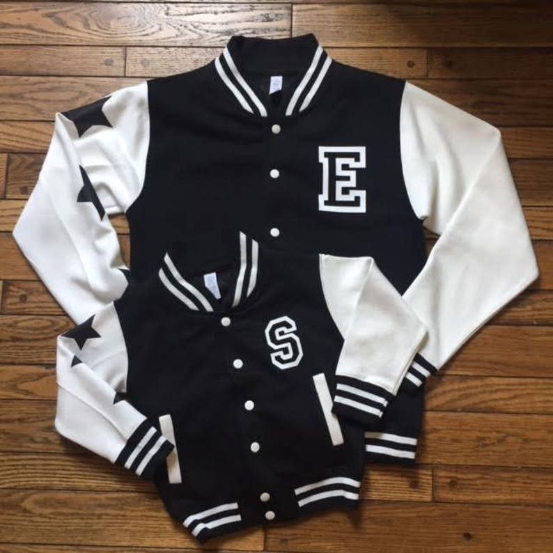 Customized TODDLER/KIDS Varsity Jacket image 0