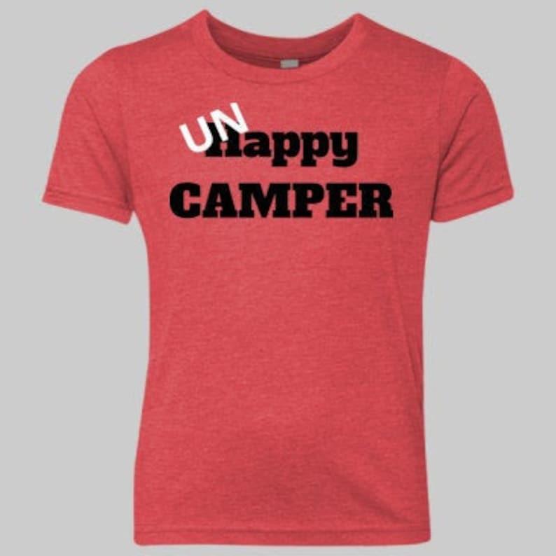 UNHappy Camper Tee image 0