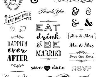 wedding clipart etsy rh etsy com wedding clip art borders free wedding clip art black and white