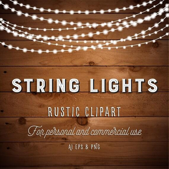String Lights Clipart Stunning String Lights Clipart Fairy Lights Clipart Party Lights Etsy