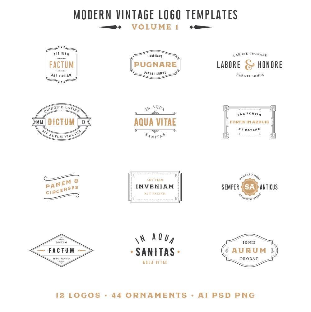 Vorgefertigte Logo Photoshop überlagern Gold-Logo Hochzeit   Etsy