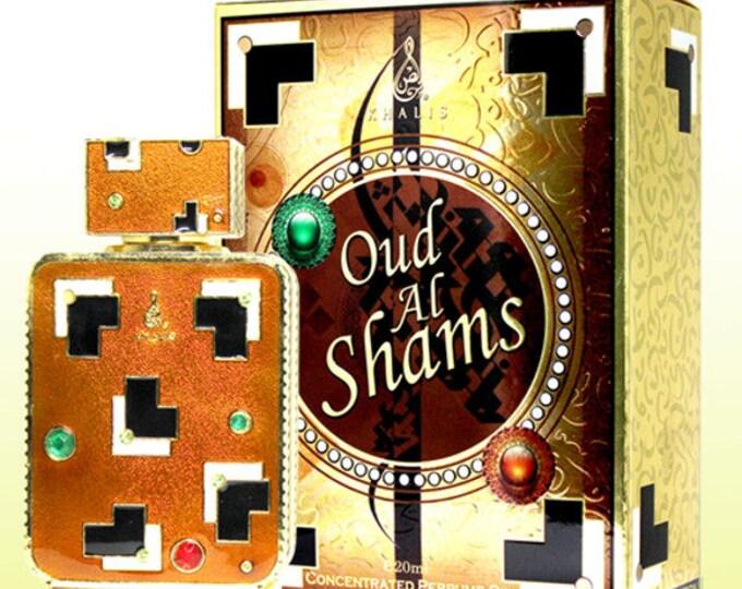 OUD Al Shams by Khalis Perfumes, Attar, Itr, Perfume, Fragrance Oil 20 ML