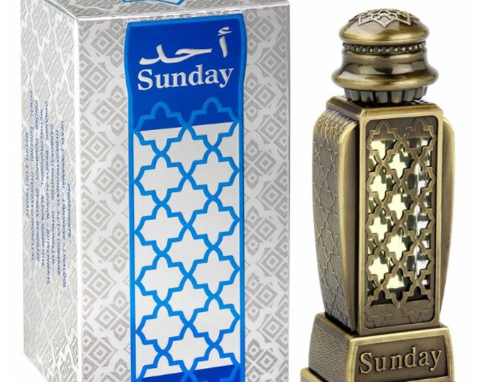 HARAMAIN SUNDAY by Al Haramain Attar, Itr, Perfume, Fragrance Oil 15 ML
