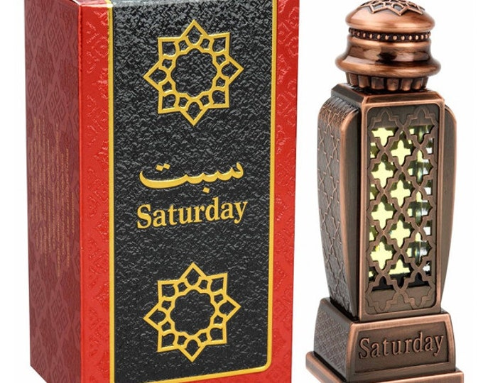 HARAMAIN SATURDAY by Al Haramain Attar, Itr, Perfume, Fragrance Oil 15 ML