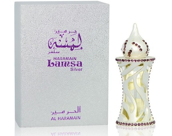 LAMSA Silver by Al Haramain Attar, Itr, Perfume, Fragrance Oil 12 ML