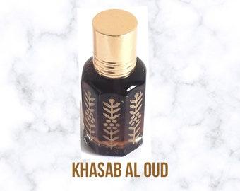 Khasab Al Oud, Agarwood, itr Attar, Arabian Perfumed, Fragrance Oil