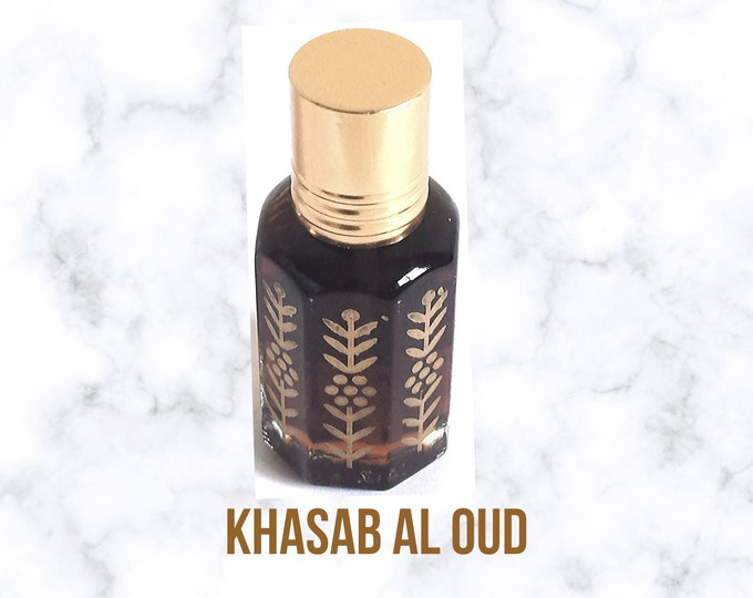 Khasab Al Oud, Agarwood, itr Attar, Arabian Perfumed, Fragrance Oil