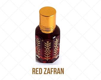 RED SAFFRON / ZAFRAN- Arabian Attar Oil, Itr, Fragrance Oil Concentrated Fragrance Oil 3ml or 12ml