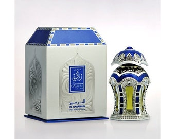 RAFIA Silver by Al Haramain Attar, Itr, Perfume, Fragrance Oil 20 ML