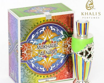 MUkhallah Al Naqi by Khalis Perfumes, Attar, Itr, Perfume, Fragrance Oil 18 ML
