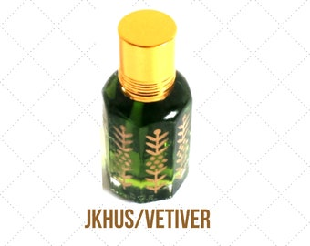 KHUS- Indian, Arabian Attar Oil, Itr, Fragrance Oil Concentrated Fragrance Oil 3ml or 12ml