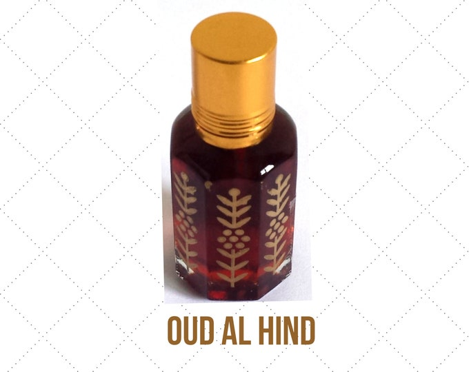 OUD AL HIND, Indian Attar, Itr, Arabian, Concentrated Fragrance Attar, Itr Oil
