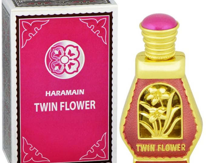 TWIN FLOWER by Al Haramain Attar, Itr, Perfume, Fragrance Oil 15 ML