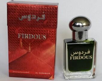 1 - Al Haramain - Wardia, Amber, Badar, Firdous, Hajar Non-Alcoholic Attar, Itr, Perfume, Fragrance Oil 15 Ml with Roll-on