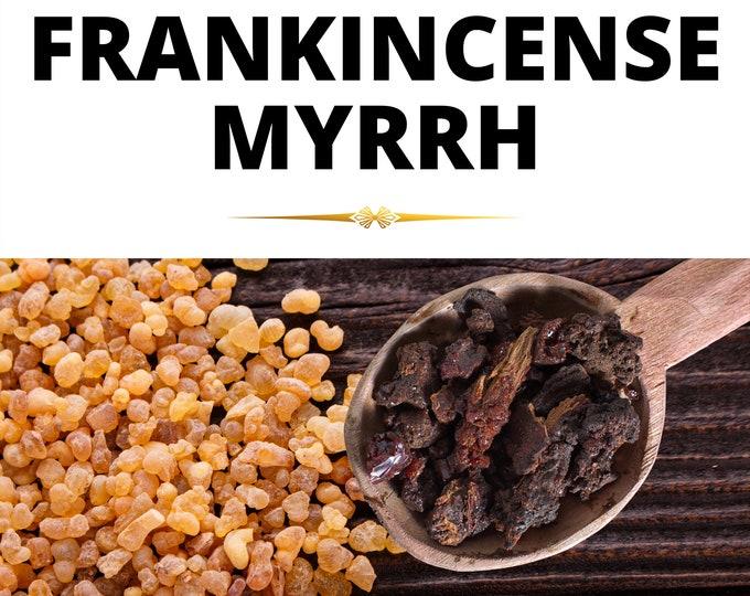 High quality Frankincense and Myrrh Granular Resin Incense rock.