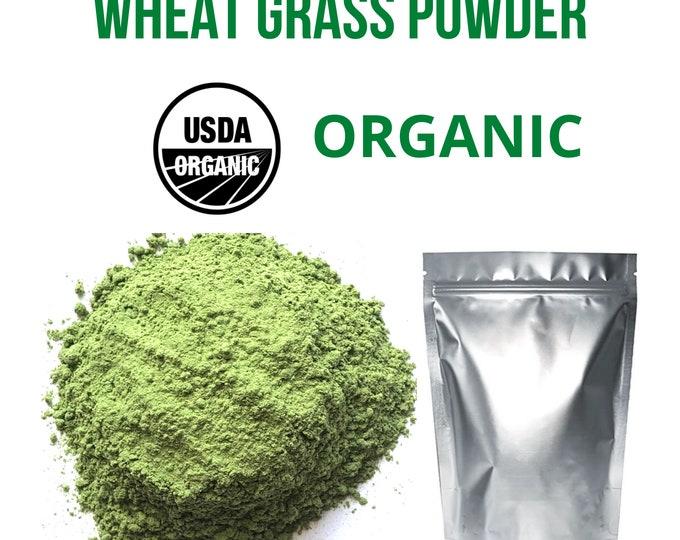 Wheat Grass Powder/Extract, USDA Organic , Super Food, 2 oz, 8 oz, 1 Lb, 5lb