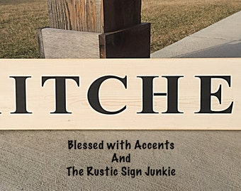 Kitchen Decor, Kitchen Sign, Kitchen Signs, County Kitchen Signs, Rustic  Kitchen Sign, Rustic Kitchen Decor, Farmhouse Sign,