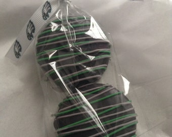 Philadelphia Eagles Party Favor Eagles Wedding Favors Eagles Baby Shower Chocolate Covered Oreo Favors Philadelphia Eagles Party Favors