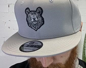 Creighton Studios Bear Hat in gray - art clothing Maine