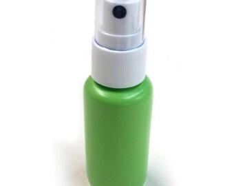 Vaporisateur vide 30 (1,25 oz) sans BPA gratuit rechargeable vert en plastique Fine brume (30-PACK)