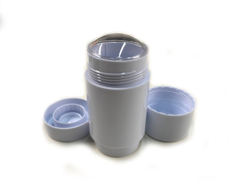 15-Pack, Black Recyclable Bottom-fill 2.0 Oz DIY Empty Deodorant Tubes Twist-up Empty Deodorant Containers Reusable DIY Deodorant Containers