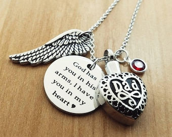 8915650b91d45 Urn necklace dad   Etsy