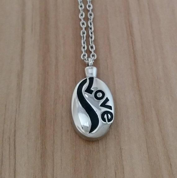 Memorial Urn Necklace, Memorial Jewelry, Cremation Necklace, Urn Locket,  Keepsake Necklace, Ashes Holder