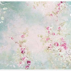 Rice paper for Decoupage Shabby Chic #R1669