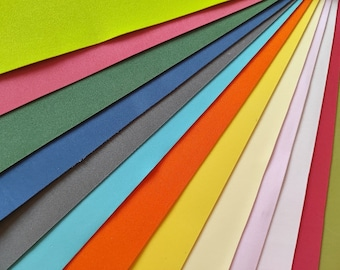 """Thin foam sheets for flowers. 31 sheets. 31 different colors. Size 59x34cm or 23.22""""x13.39"""""""