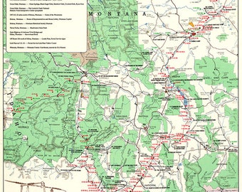 photograph about Lewis and Clark Printable Map named Lewis and clark Etsy