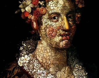 Giuseppe Arcimboldo: Flora. Fine Art Print/Poster (002634)