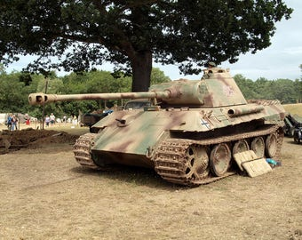 Panzer V, Panther Tank Print/Poster (4828)