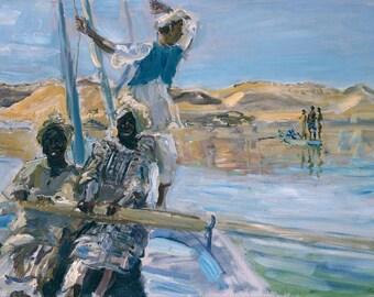 Max Slevogt: Pirates. Fine Art Print/Poster (004708)