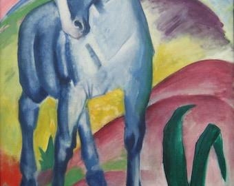 Franz Marc:  Blue Horse. Fine Art Print/Poster. (003303)