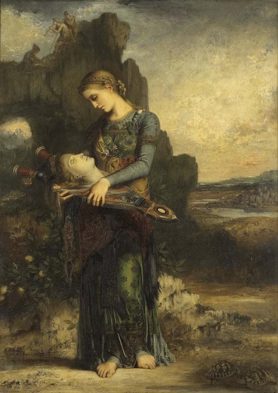 vente au royaume uni profiter de prix bas sélectionner pour officiel Gustave Moreau : Orphée/Orphée. Fine Art Print/Poster. (004118)