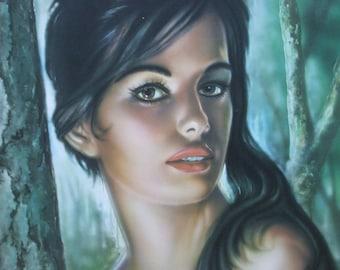 J H Lynch: Tina. Fine Art Print/Poster (001245)