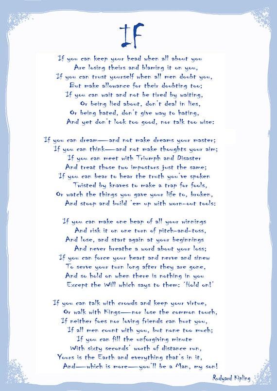 Poema de Rudyard Kipling Impresión-Tommy-Arte Foto Poster Regalo