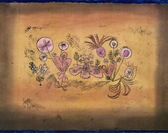 Paul Klee: Medicinal Flora. Fine Art Print/Poster (5010)
