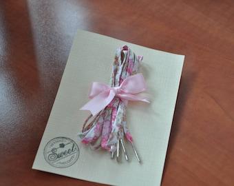 Lacets Liberty of London Felicité rose (90 cms)- Embouts Luxe