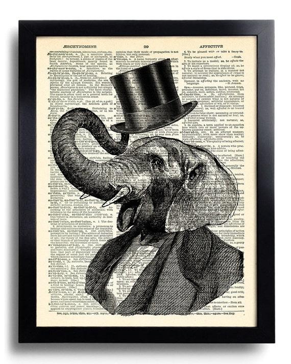 Elephants Cool Art