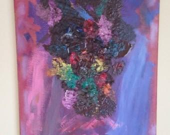 Original oil painting on canvas.