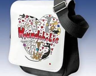 Houndaholic Small Ladies Shoulder Bag