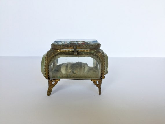French jewelry box. Antique box. Antique Jewelry b