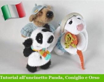 Coniglio Uncinetto Amigurumi Tutorial - Rabbit Bunny Crochet ... | 270x340
