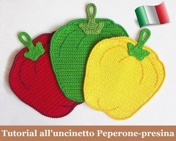 070it Il Tutorial Alluncinetto Peperone Presina Amigurumi Etsy