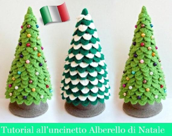 Alberelli Di Natale.085it Il Tutorial All Uncinetto Alberello Di Natale Amigurumi Giocattolo Pdf Di Zabelina Etsy