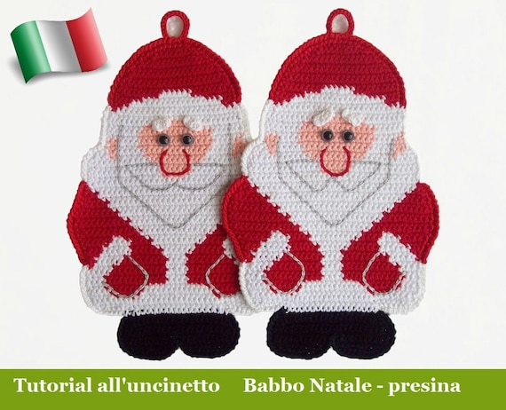 039it Il Tutorial Alluncinetto Babbo Natale Presina Etsy